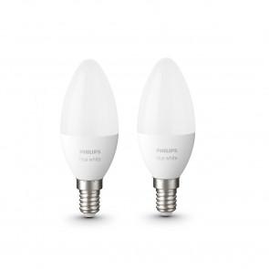 E14 Kerze White, 2er Erweiterung, 470 lm, 2.700 K