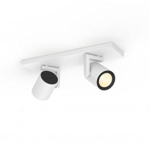 Argenta White & Color Ambiance, 2 flg., weiß, 2x350lm, 2.000–6.500 K