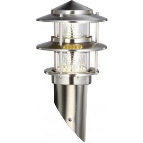 Imola Höhe 32,5 cm metallisch 1-flammig zylinderförmig