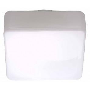 Isar 23 x 23 cm weiß 1-flammig quadratisch