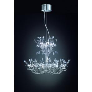 Cinderella 20-flammig Glaskristall