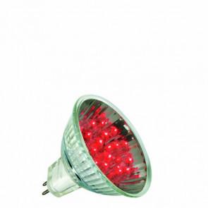 LED Reflektor GU5,3 1 W rot