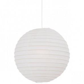 Rispapir 48 Ø 48 cm weiß 1-flammig kugelförmig