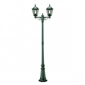 Firenze Höhe 220 cm grün 2-flammig eckig