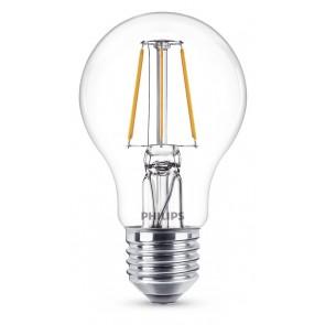 LED Classic E27, 4W (ersetzt 40W), 470lm, warmweiß 2700K, klar