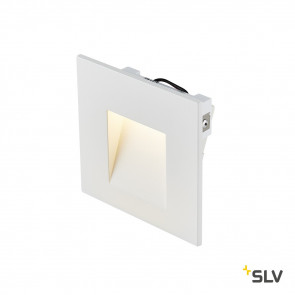 Mobala 9 x 9 cm weiß 1-flammig quadratisch