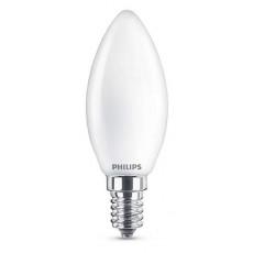 LED E14, 4,3W, warmweiß, matt, nicht dimmbar