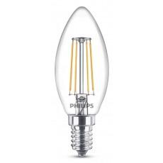 LED E14, 4,0W (ersetzt 40W), warmweiß, klar, nicht dimmbar